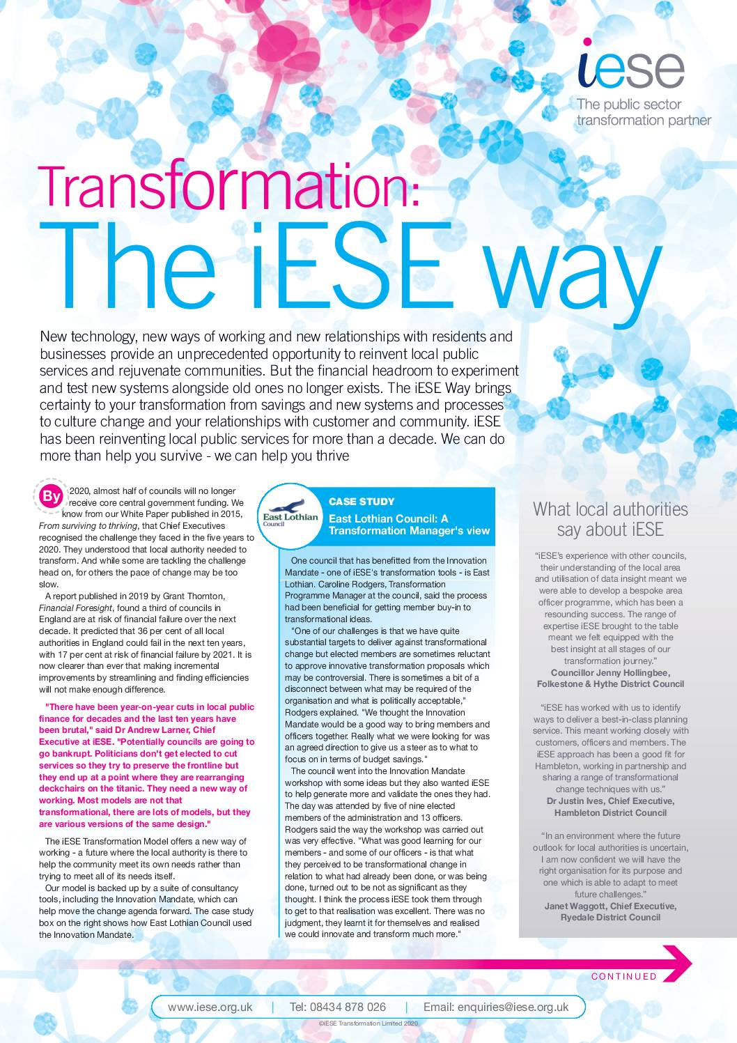 Research-Led Transformation Framework