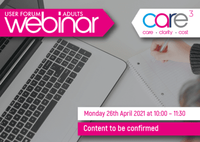 CareCubed for Adults – April Webinar