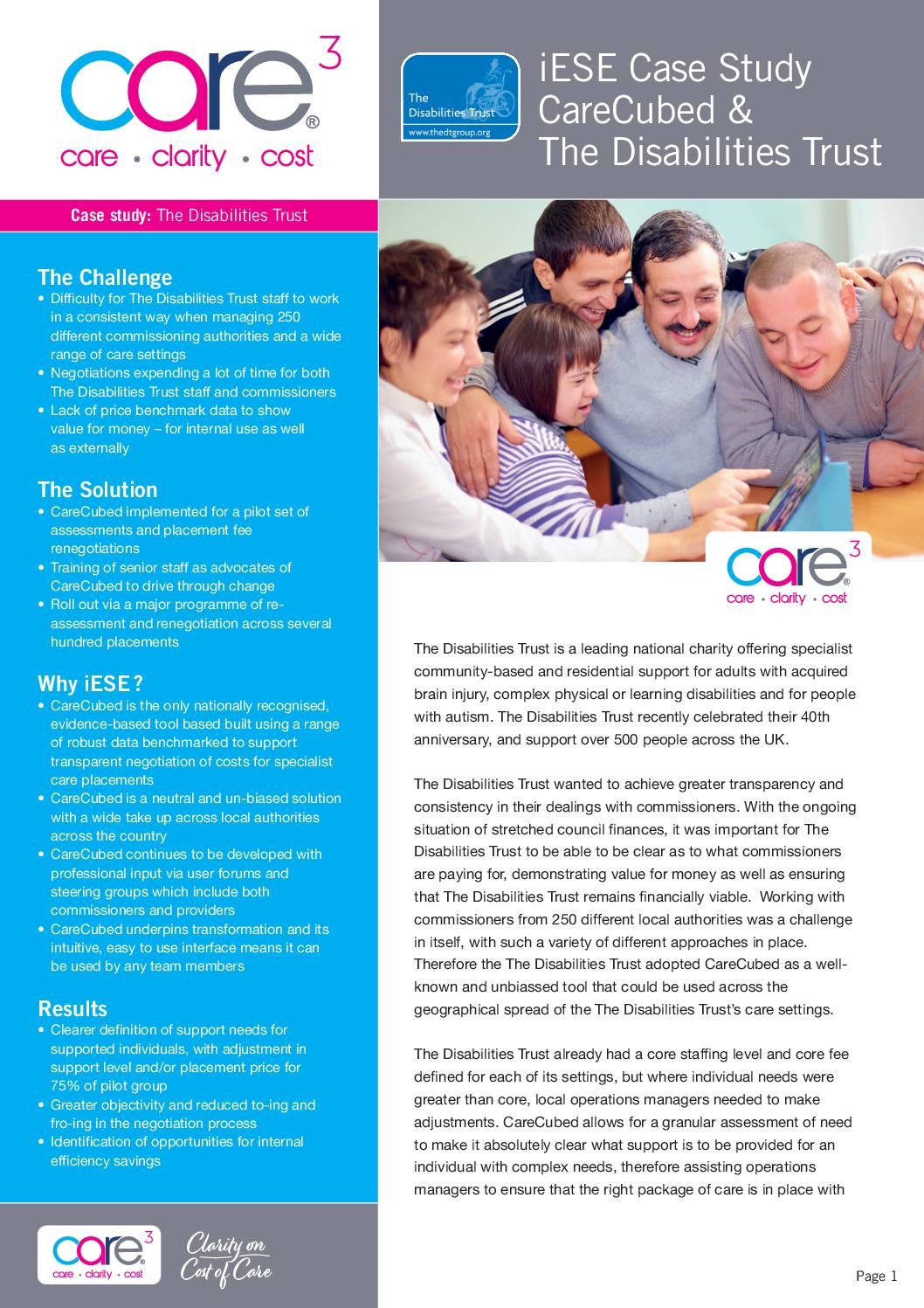 Care Provider Cost Clarity