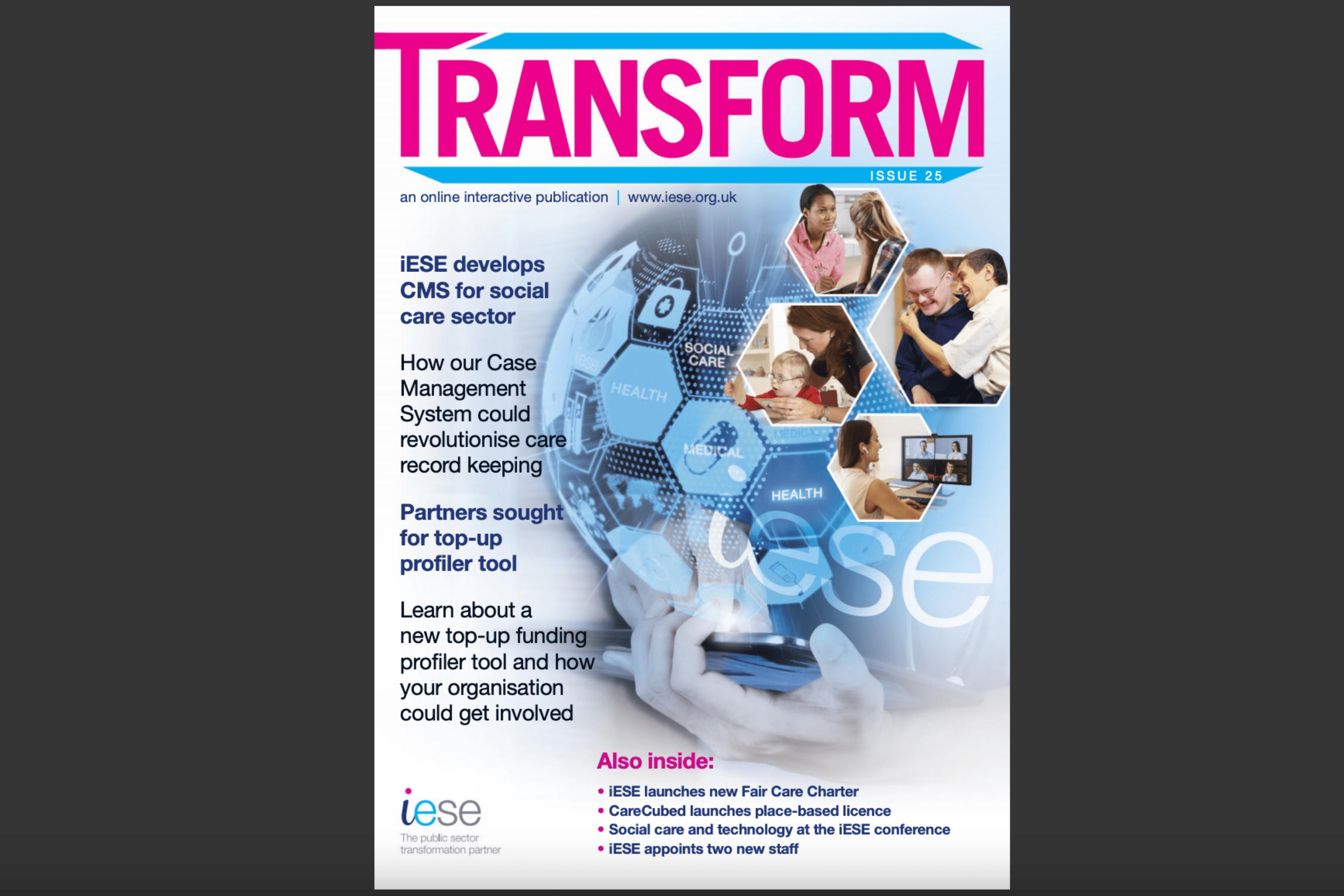 Transform Feb21 front cover feature image